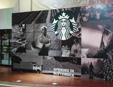 Starbucks Modular Retail Barricade
