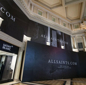 All Saints Retail Barricade
