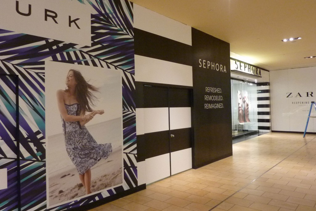 Retail Barricades For New Stores
