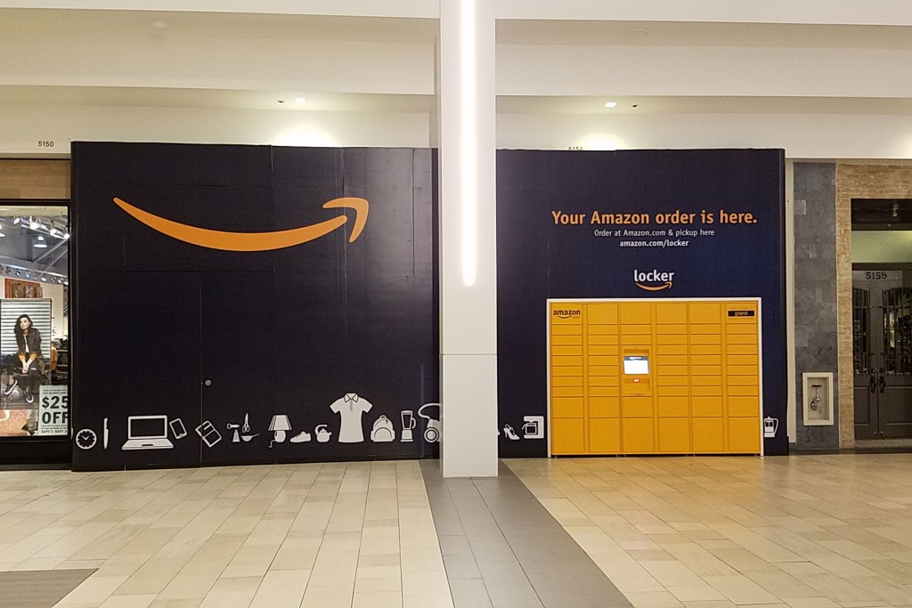 amazon locker barricade